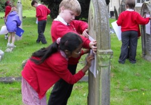 A school visit to a graveyard.
